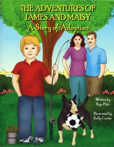The adventures of James and Maisy A story of Adoption by Page Pitts